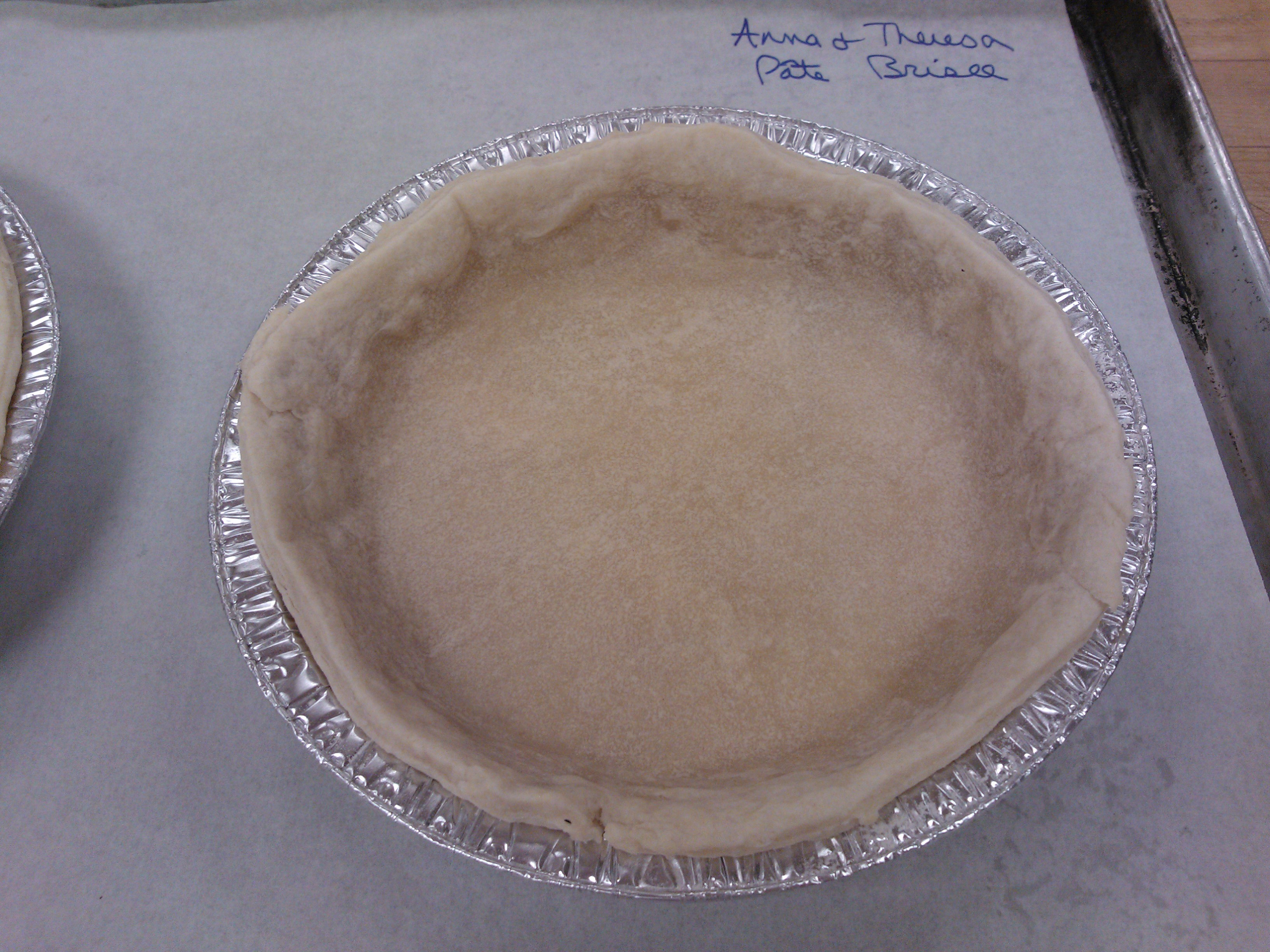 Pie Crust #2: Pate Brisee | Around Anna's Table