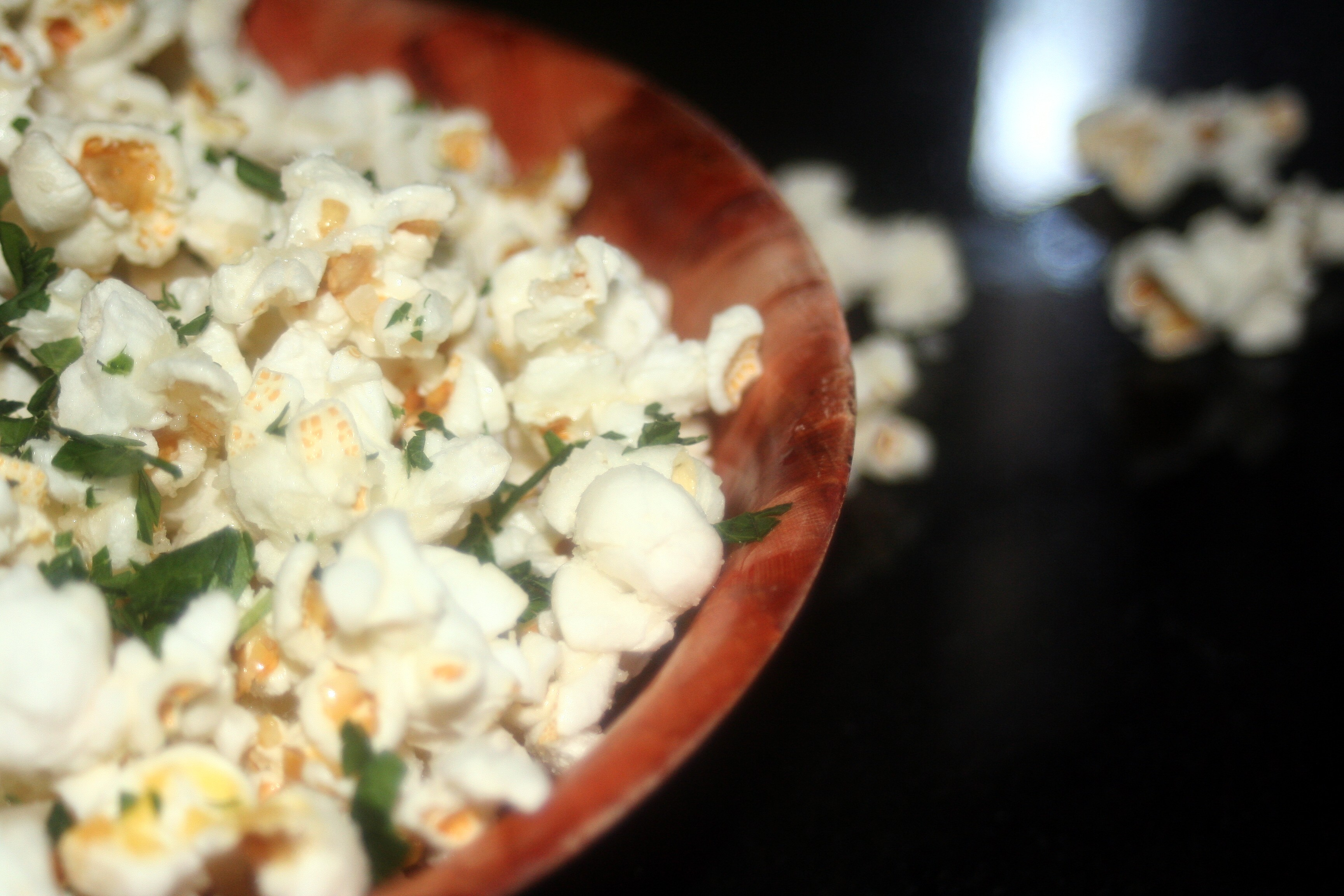 your parmesan and black truffle popcorn with black truffle oil truffle ...