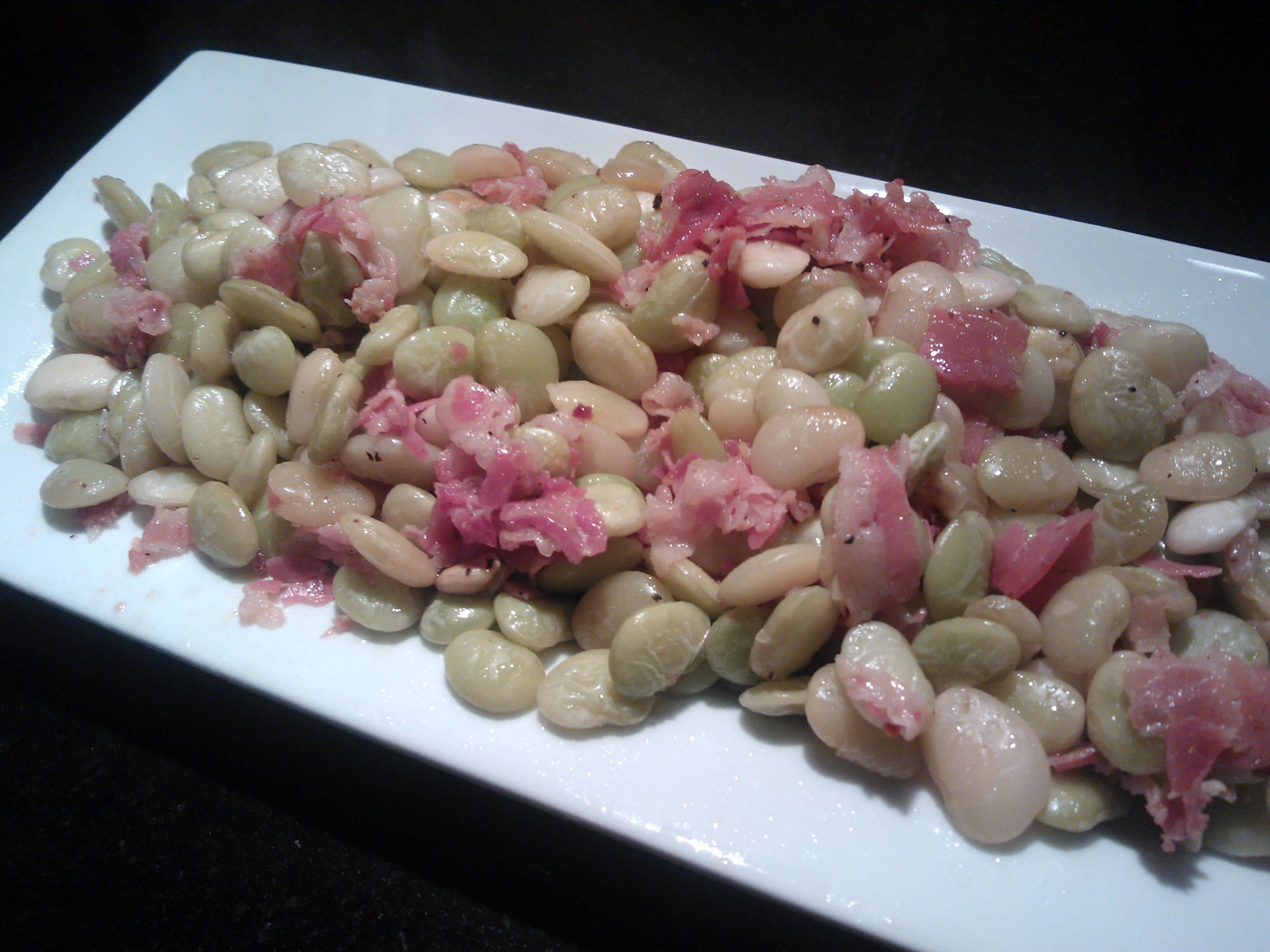 how to cook pancetta cubes