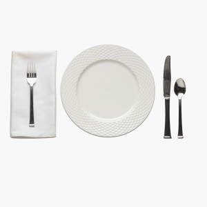 Table Setting --- Image by © Royalty-Free/Corbis